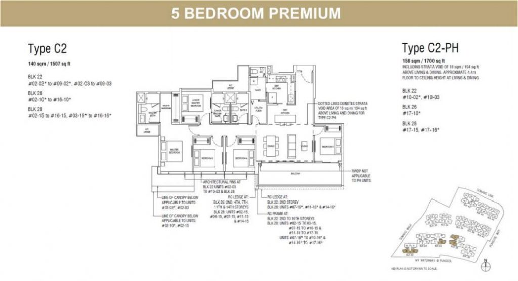 Piermont Grand Floor Plan Piermont Grand Ec 星水嘉园执行共管公寓